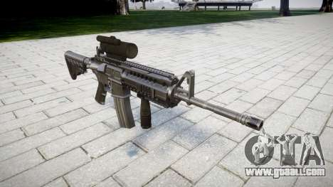Automatic M4 carbine Tactical Sirs for GTA 4