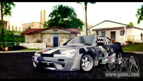 Nissan Silvia S13 Fail Crew v2 for GTA San Andreas