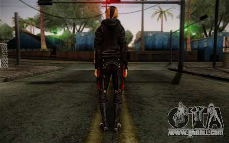 Jack Hood from Mass Effect 3 for GTA San Andreas second screenshot