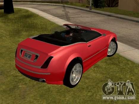 Cognoscenti Cabrio for GTA San Andreas left view