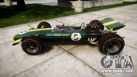Lotus Type 49 1967 [RIV] PJ5-6 for GTA 4 left view