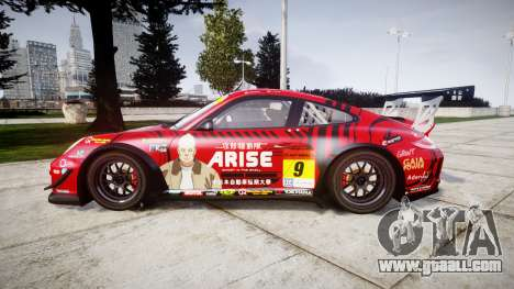 Porsche 911 Super GT 2013 for GTA 4 left view