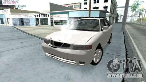 Daewoo Nubira I Wagon CDX US 1999 for GTA San Andreas engine