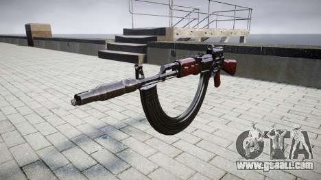 Автомат АК-47 Collimator. Muzzle and HICAP targe for GTA 4