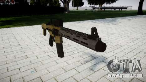 Assault rifle AAC Honey Badger for GTA 4
