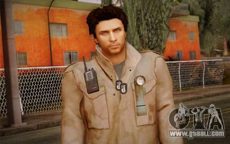 Alex Shepherd From Silent Hill for GTA San Andreas third screenshot