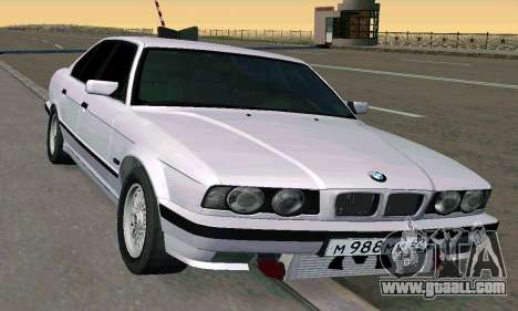 BMW 525 Turbo for GTA San Andreas