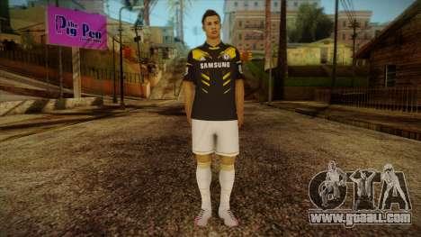 Footballer Skin 3 for GTA San Andreas