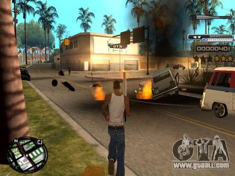 CLEO HUD Spiceman for GTA San Andreas third screenshot