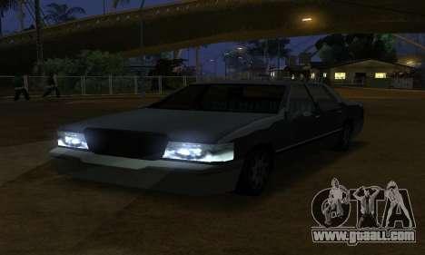 Beta Elegant Final for GTA San Andreas inner view