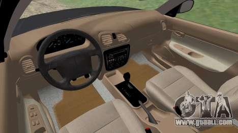 Daewoo Nubira I Wagon CDX US 1999 for GTA San Andreas bottom view