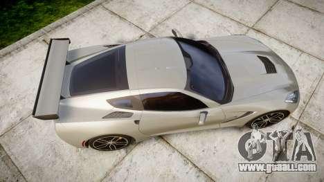 Chevrolet Corvette C7 2014 Tuning for GTA 4 right view