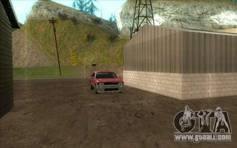 Road garage of Sigea for GTA San Andreas forth screenshot