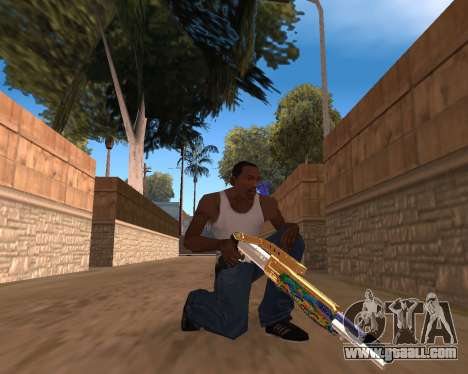 Graffity Weapons for GTA San Andreas