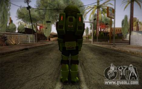 Space Ranger from GTA 5 v1 for GTA San Andreas second screenshot