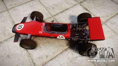 Lotus Type 49 1967 [RIV] PJ9-10 for GTA 4 right view