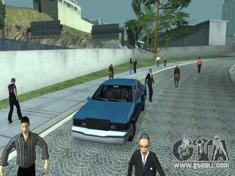 Beta Elegant for GTA San Andreas side view