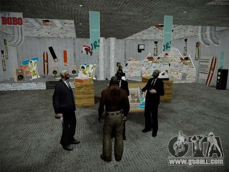 System robberies v4.0 for GTA San Andreas ninth screenshot