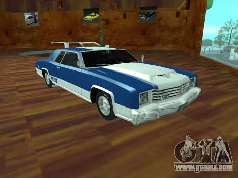 Buccaneer Turbo for GTA San Andreas