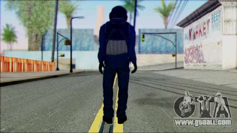 Chinese Pilot from Battlefiled 4 for GTA San Andreas second screenshot
