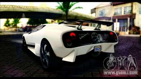 GTA 5 Pegassi Infernus for GTA San Andreas left view