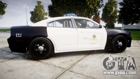 Dodge Charger 2013 LAPD [ELS] for GTA 4 left view