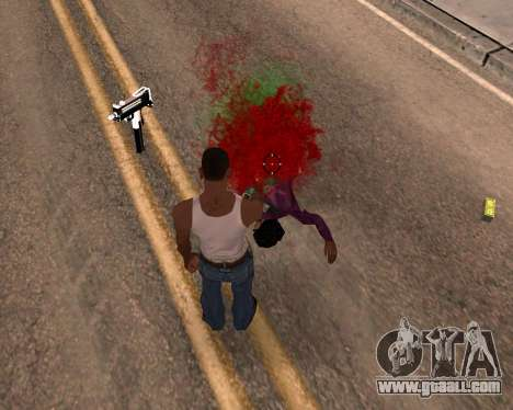 Freaky effects for GTA San Andreas third screenshot