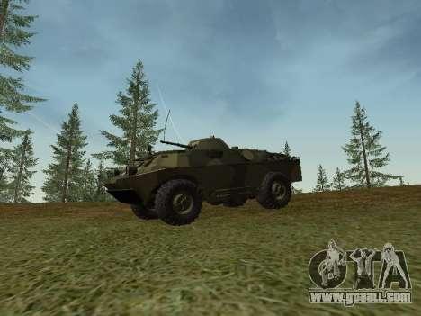 BRDM 2 for GTA San Andreas left view