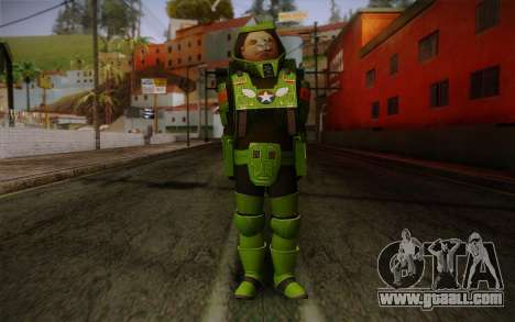 Space Ranger from GTA 5 v1 for GTA San Andreas