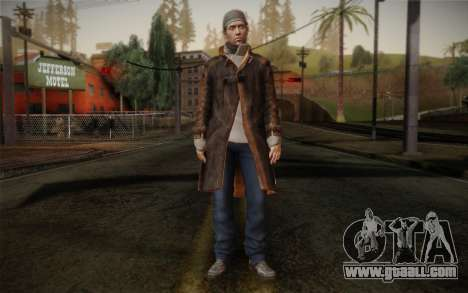 Aiden Pearce from Watch Dogs v11 for GTA San Andreas