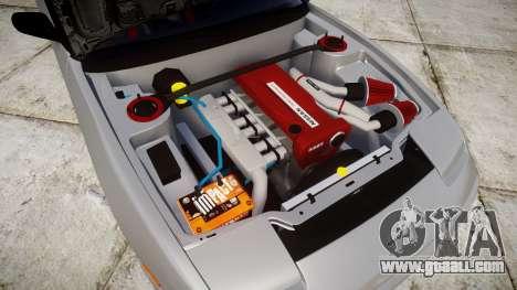 Nissan 240SX SE S13 1993 for GTA 4 inner view