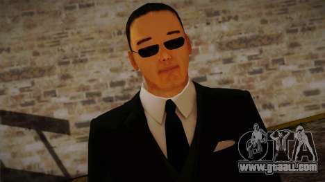 Gedimas Hideki Skin HD for GTA San Andreas third screenshot