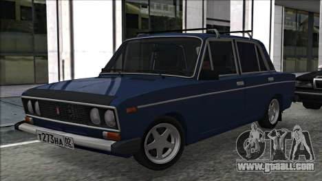 ВАЗ 2106 Russian style 2.0 for GTA San Andreas left view
