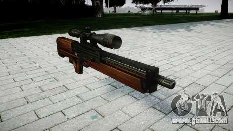 Sniper rifle Walther WA 2000 for GTA 4