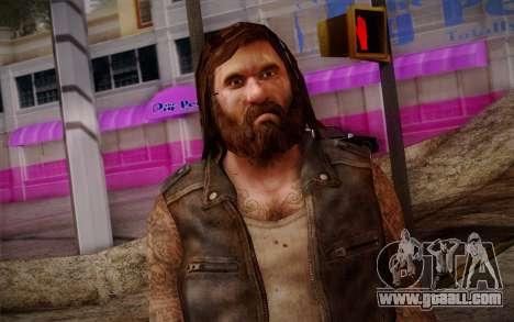 Francis from Left 4 Dead Beta for GTA San Andreas third screenshot