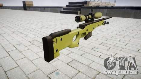 Sniper rifle AWP for GTA 4 second screenshot