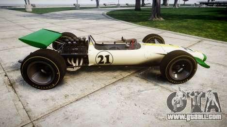 Lotus Type 49 1967 [RIV] PJ21-22 for GTA 4 left view