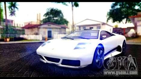 GTA 5 Pegassi Infernus for GTA San Andreas
