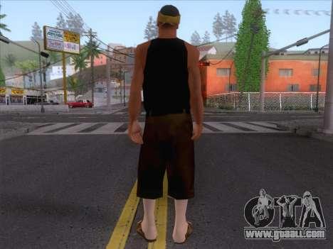 New Ballas Skin 2 for GTA San Andreas second screenshot