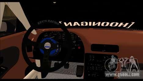 Nissan Silvia S13 Fail Crew v2 for GTA San Andreas back left view