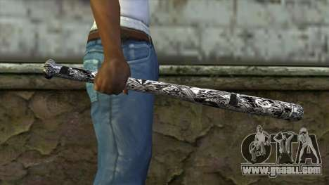New Baseball bat for GTA San Andreas third screenshot