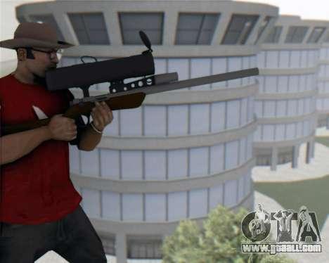 TF2 Sniper Rifle for GTA San Andreas third screenshot