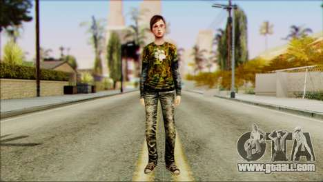 Ellie from The Last Of Us v2 for GTA San Andreas