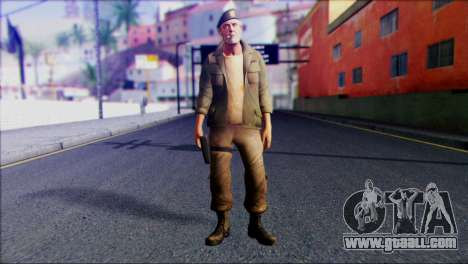 Left 4 Dead Survivor 4 for GTA San Andreas