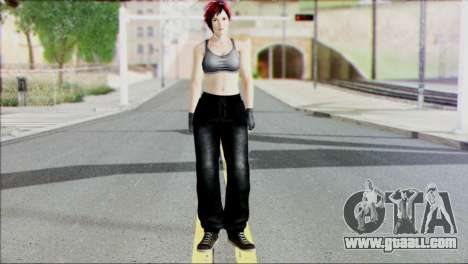 Mila from Dead of Alive v1 for GTA San Andreas