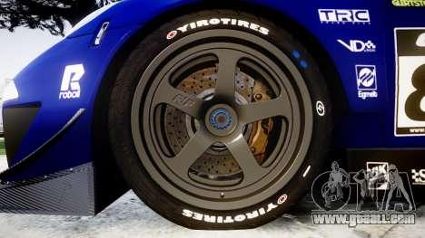 RUF RGT-8 GT3 [RIV] EXO for GTA 4 back view