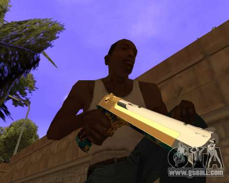 Graffity Weapons for GTA San Andreas forth screenshot