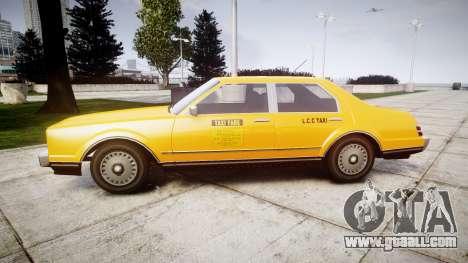 Albany Esperanto Taxi for GTA 4 left view