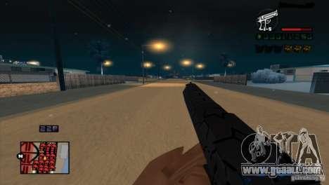 C-HUD Brendi for GTA San Andreas second screenshot