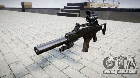 Автомат Heckler & Koch G36 CV target for GTA 4